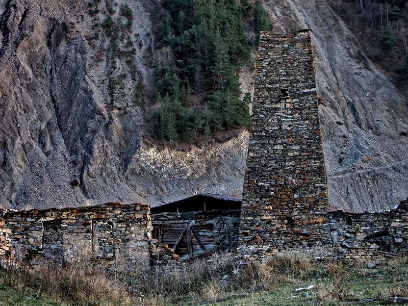 Старые строения