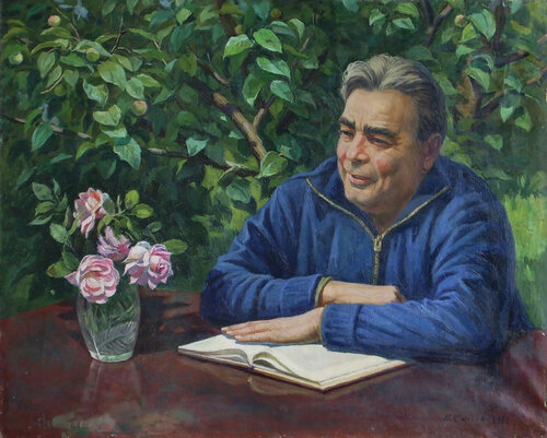 Николай Александрович Сысоев. Всегда в работе. Л.И. Брежнев, 1981г..jpg