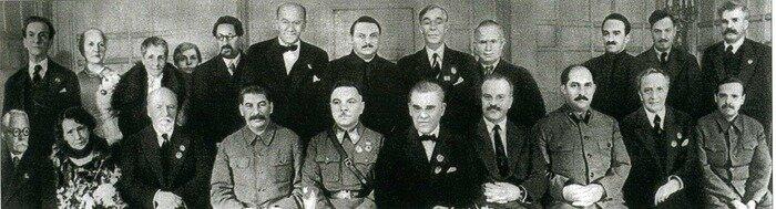 На торжественном Вечере во МХАТе. 1938 год. 40-летие Театра.