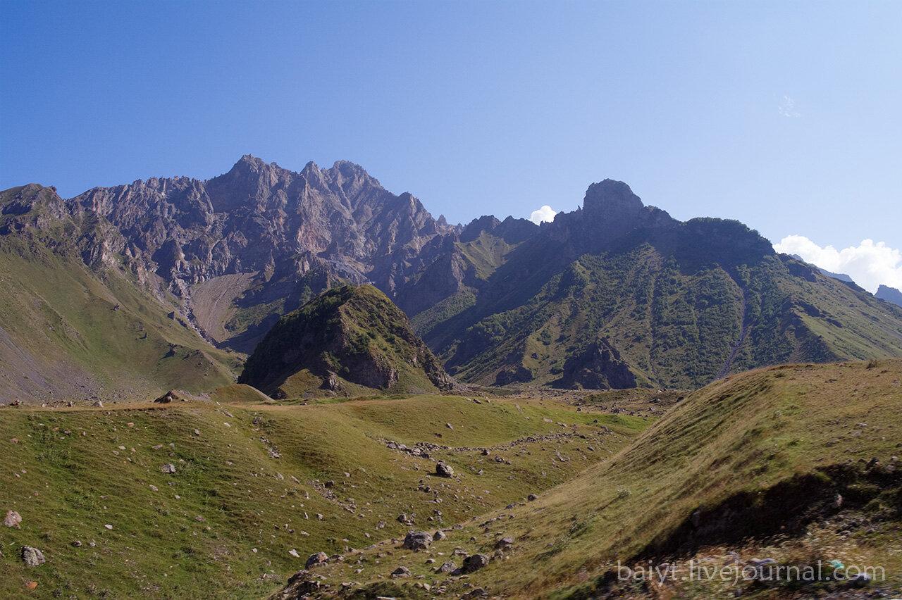 Гора Кабарджини (?)