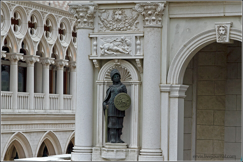 Элементы отделки в Венеции