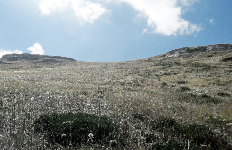 На плато Большого Тхача, сентябрь 2012