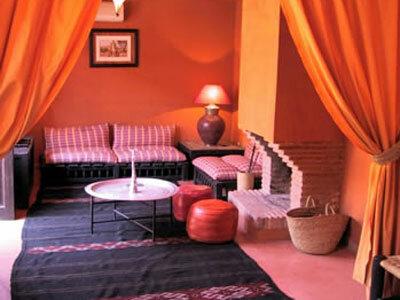 Марокканский стиль в интерьере.