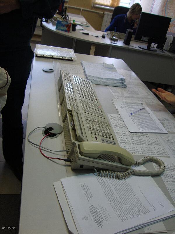 Сюда поступают звонки на 01, 010, 112, 911..