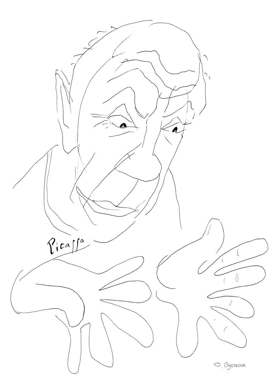 Pablo. Les Mains de Picasso