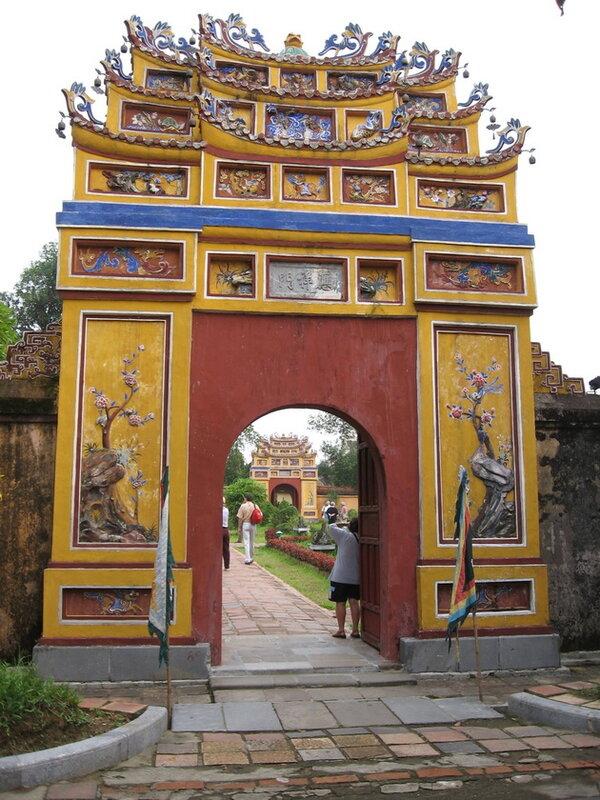 Древняя цитадель в Хуэ. Вьетнам