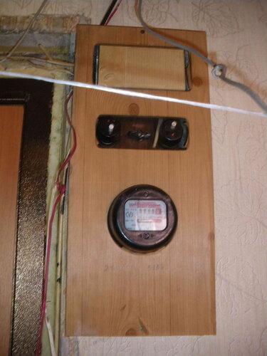 Фото 1. Квартирный щит с предохранителями автоматическими резьбовыми (ПАР). Общий вид.