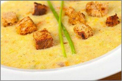 Сметанный суп