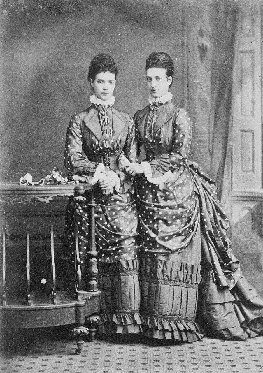 1874. Александра Датская и цесаревна Мария Фёдоровна