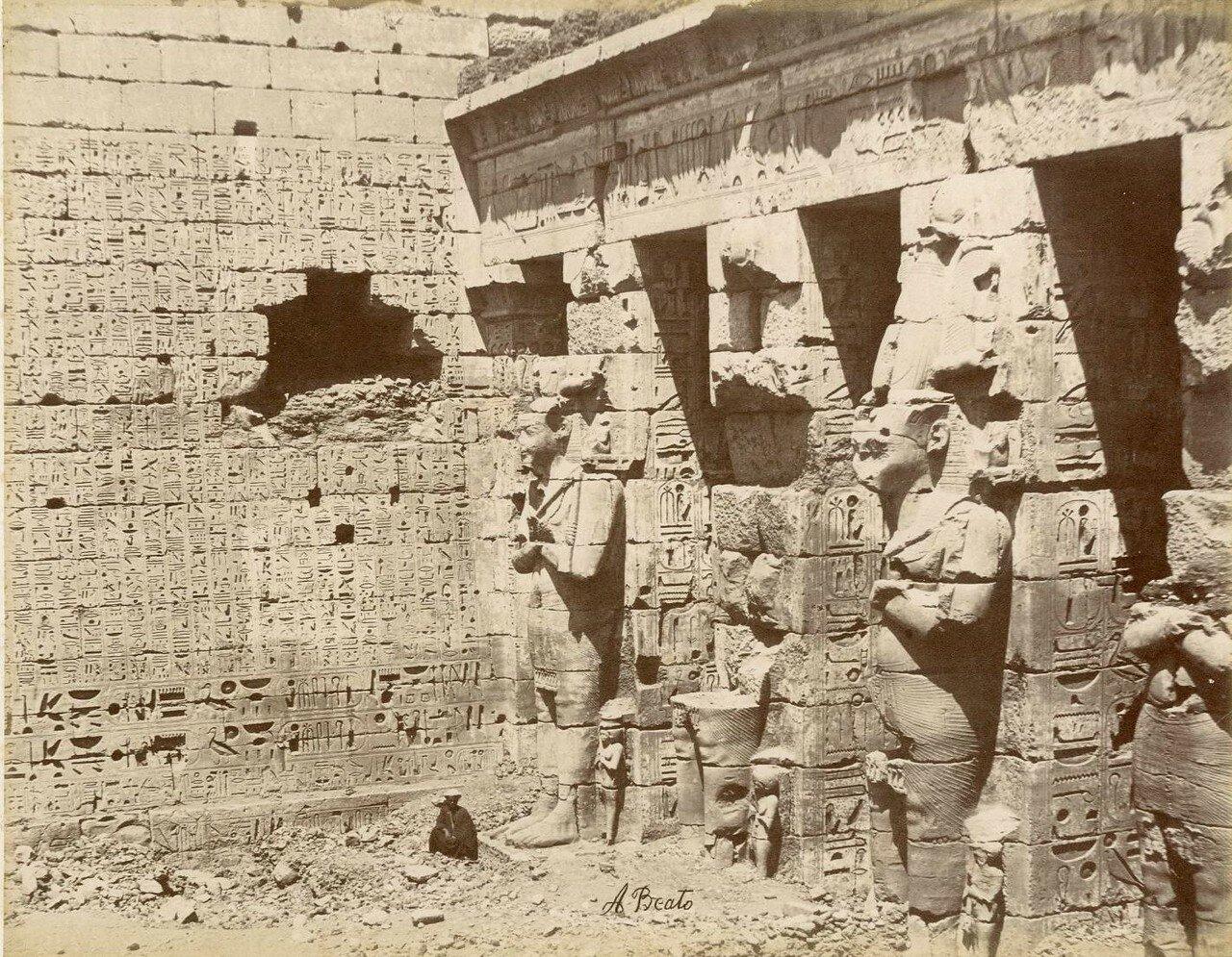 Филе, Барельеф.1880-е