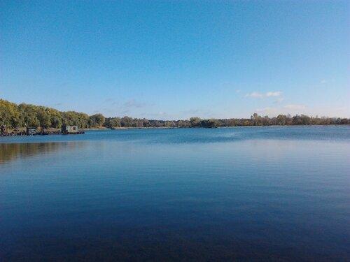 Озеро Рапное. И девайсы по сбору грязи