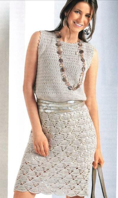 Летнее платье связанное крючком.