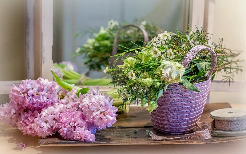Весенние цветочки для январской дочки! )