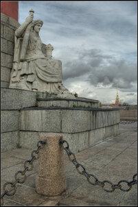 Стрелка. Cанкт-Петербург. Октябрь 2012.