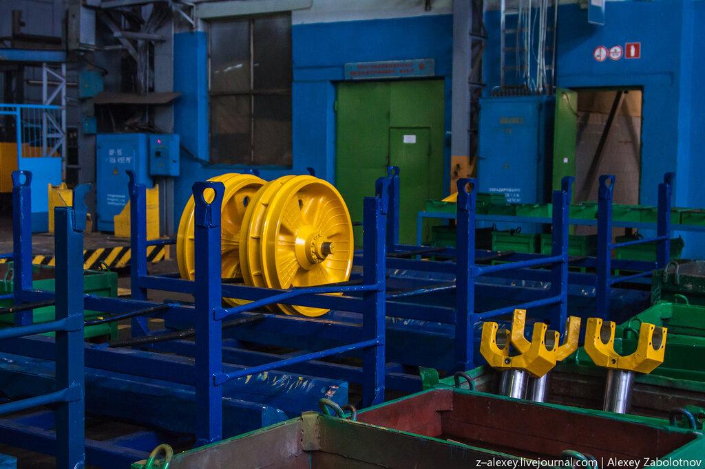 На заводе Промтрактор в Чебоксарах