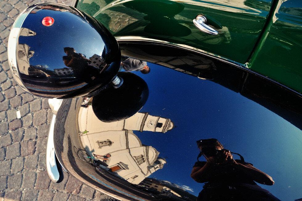 Прогулка на сборище антикварных итальянских машинок