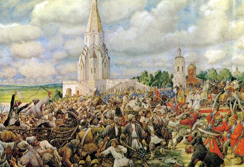 Медный бунт. 1662. Худ.Лисснер Э. 1938.