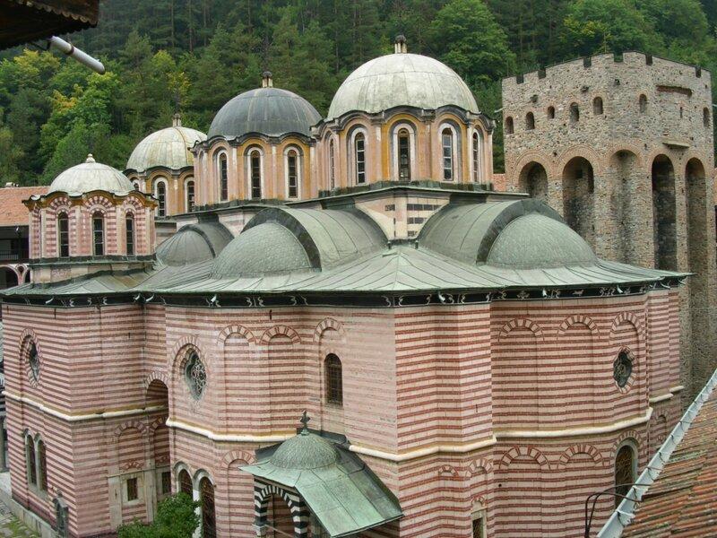 Рильский монастырь в Болгарии. 120км. от Софии. www.bulgara.ru