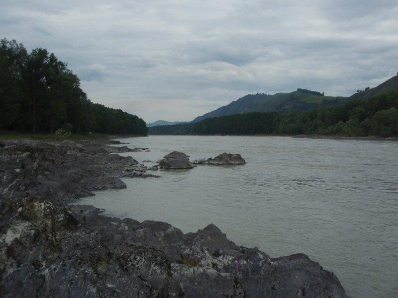 Катунь в районе озера АЯ