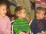 Начался новый учебный год в музыкальной студии Скерцино, открытой при Донском храме в 2005 году. Дети от 2,5 до 7 лет получают дошкольное музыкальное образование