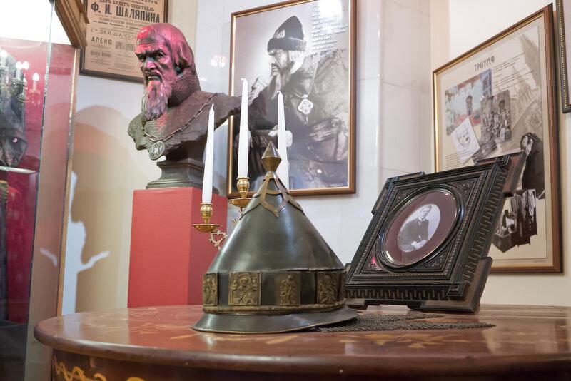 фотографии: Музей Шаляпина