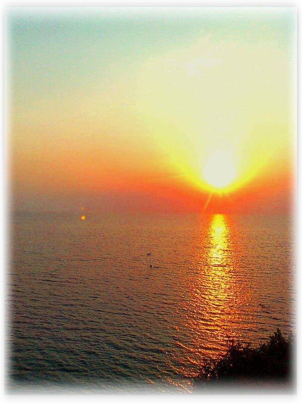 Черное море у берегов Анапы