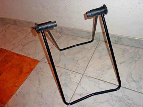 Как сделать подставку для велосипедов 42