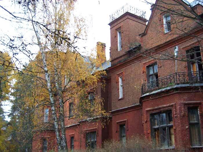 полушкинские карьеры, замок князя Щербатова