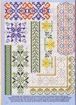 Орнаменты - бесплатные схемы вышивки крестом на любой вкус и возраст.