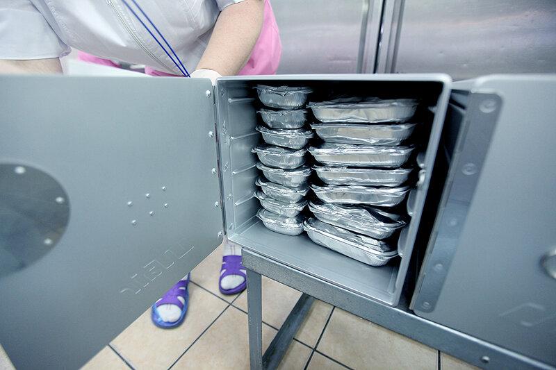 Как производят еду для пассажиров самолета