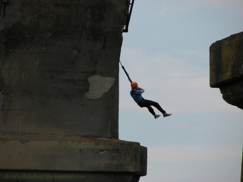 Роупджампинг на Мокринском мосту