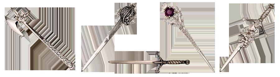 Разновидности декорации килтпинов