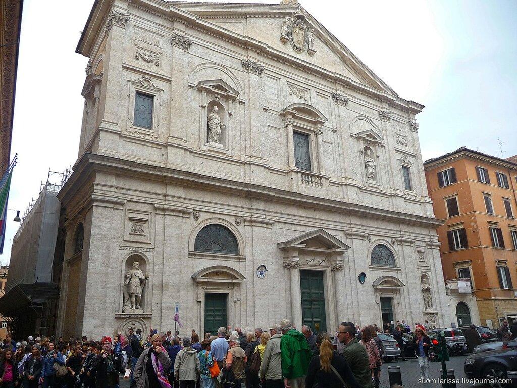 Рим-2015. Церковь Св. Людовика Французского.