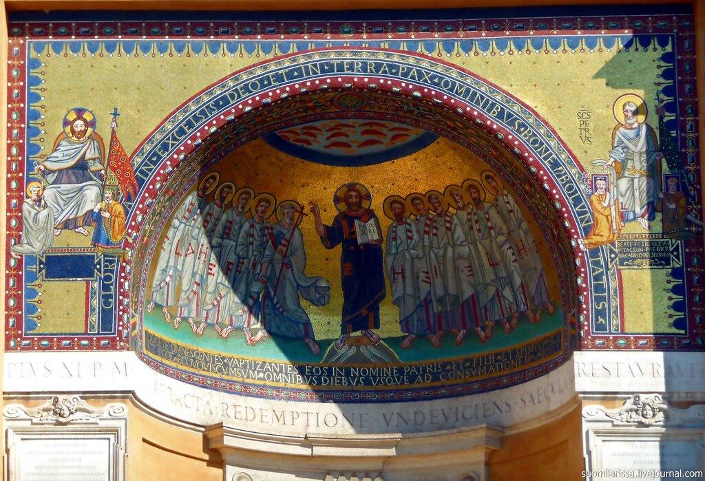 Мозаика здания папской трапезной (800 г.)