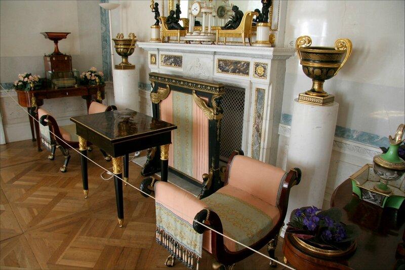Павловский дворец, жилые комнаты Марии Федоровны. Туалетная