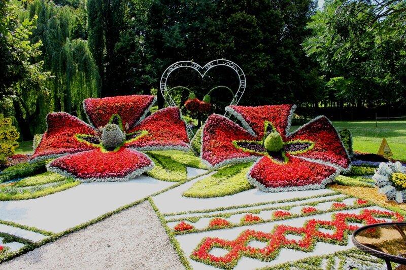 Цветочная композиция Оболонского района