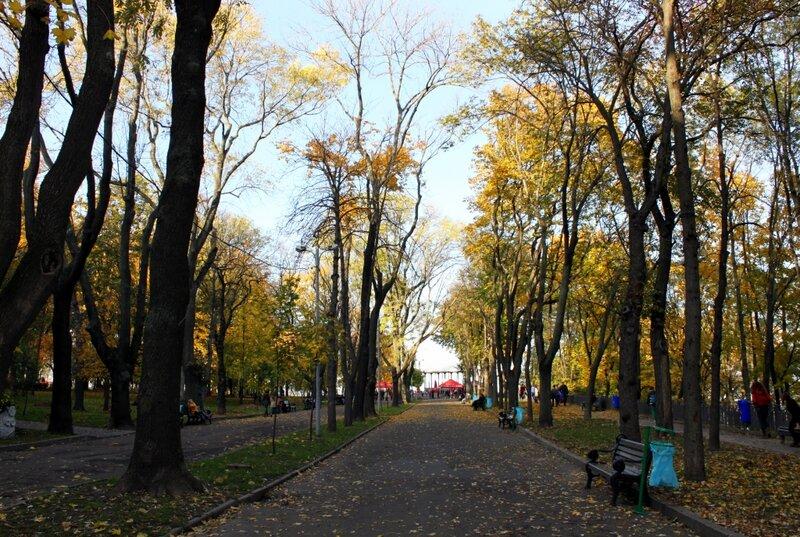 Парковая дорога Владимирской горки