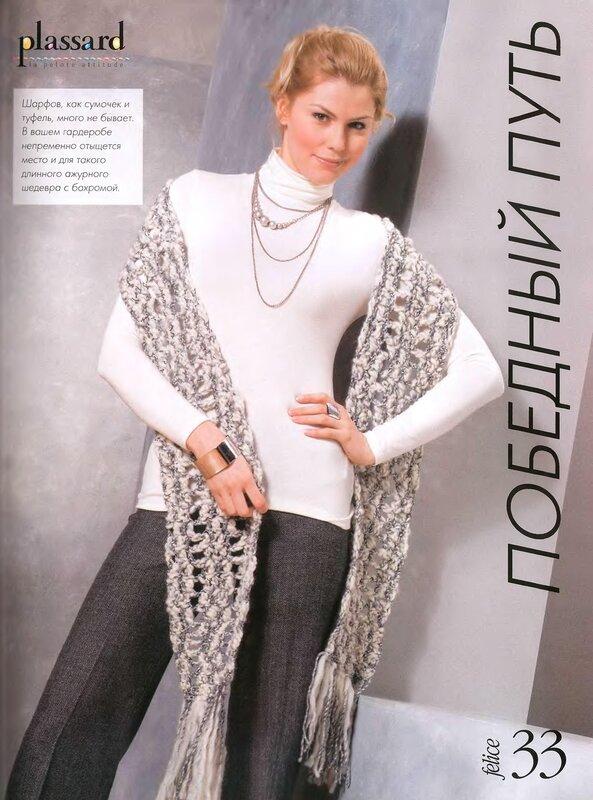 Архив метки. женский вязаный шарф.