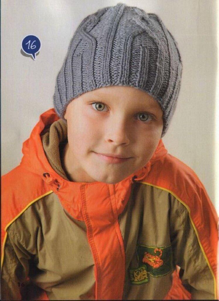 Шапки для мальчика вязание крючком