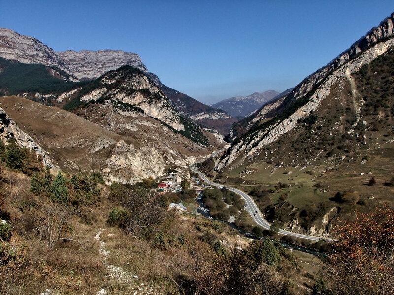 Вид на селение Дзивгис
