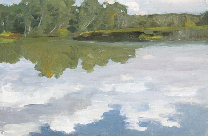 Алексей Степанович Степанов. Озеро Удомля, 1912.