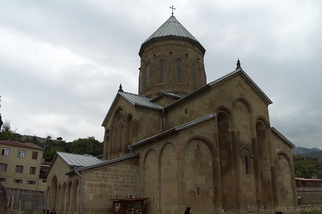 Церковь Преображения в монастыре Самтавро (Мцхета)