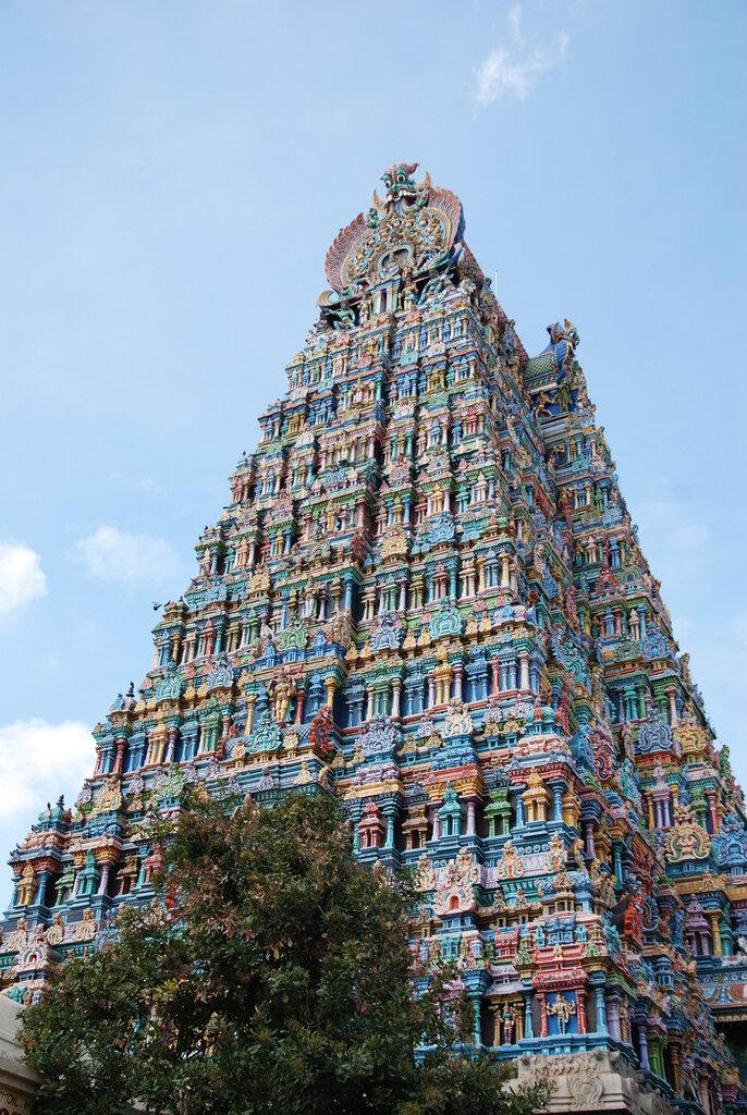Храмовый комплекс Минакши Сундарешвары