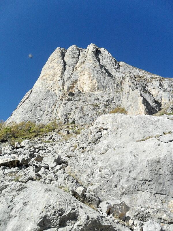 В горах...сентябрь, 2012 год