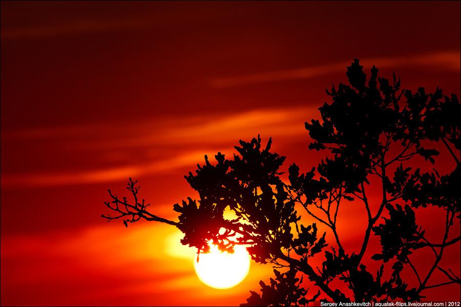 Закат в Качи-Кальоне
