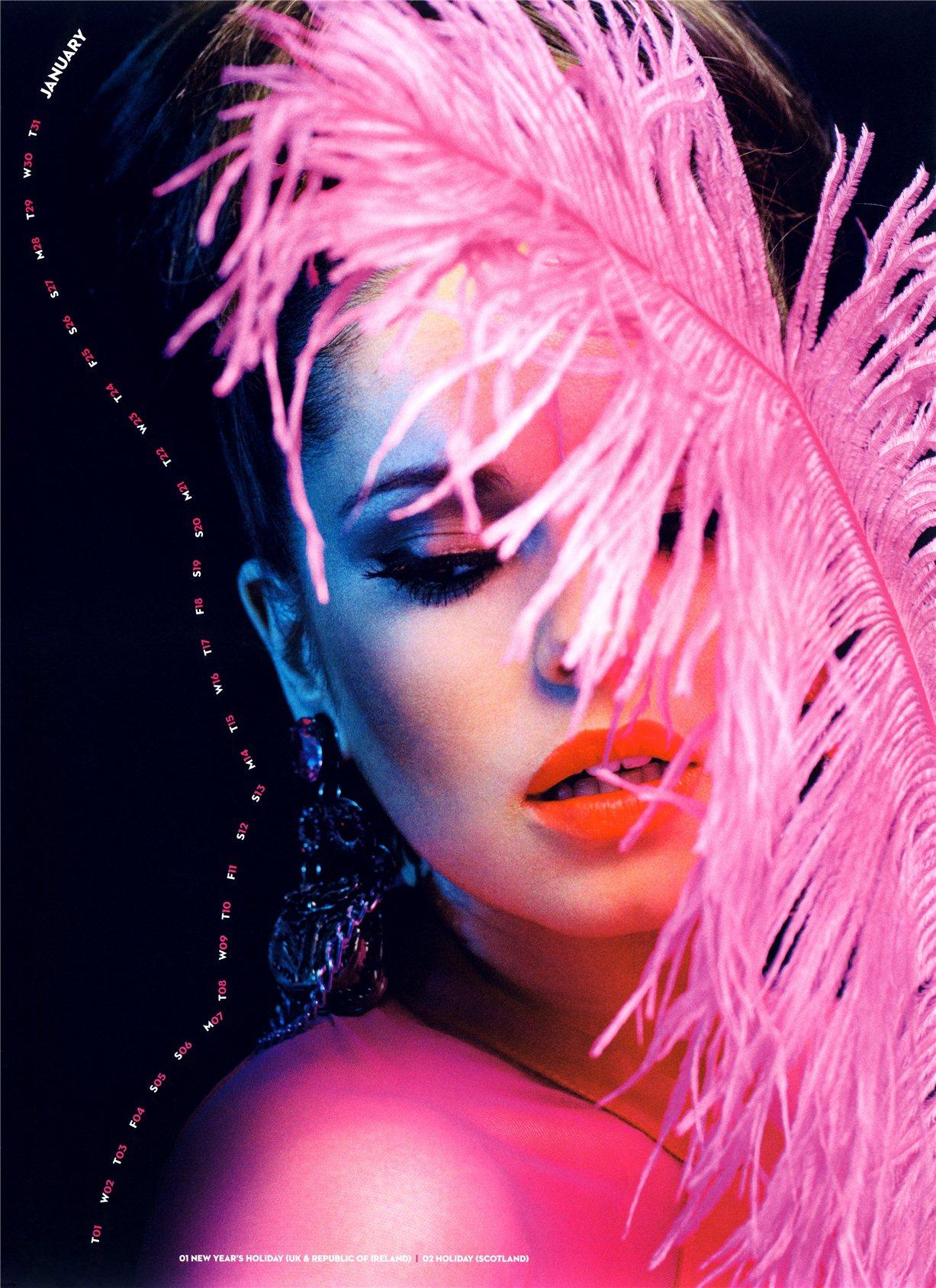 Cheryl Cole / Шерил Коул - официальный календарь на 2013 год