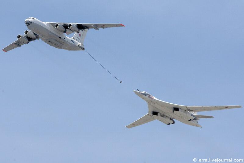 Имитация дозаправки Ту-160