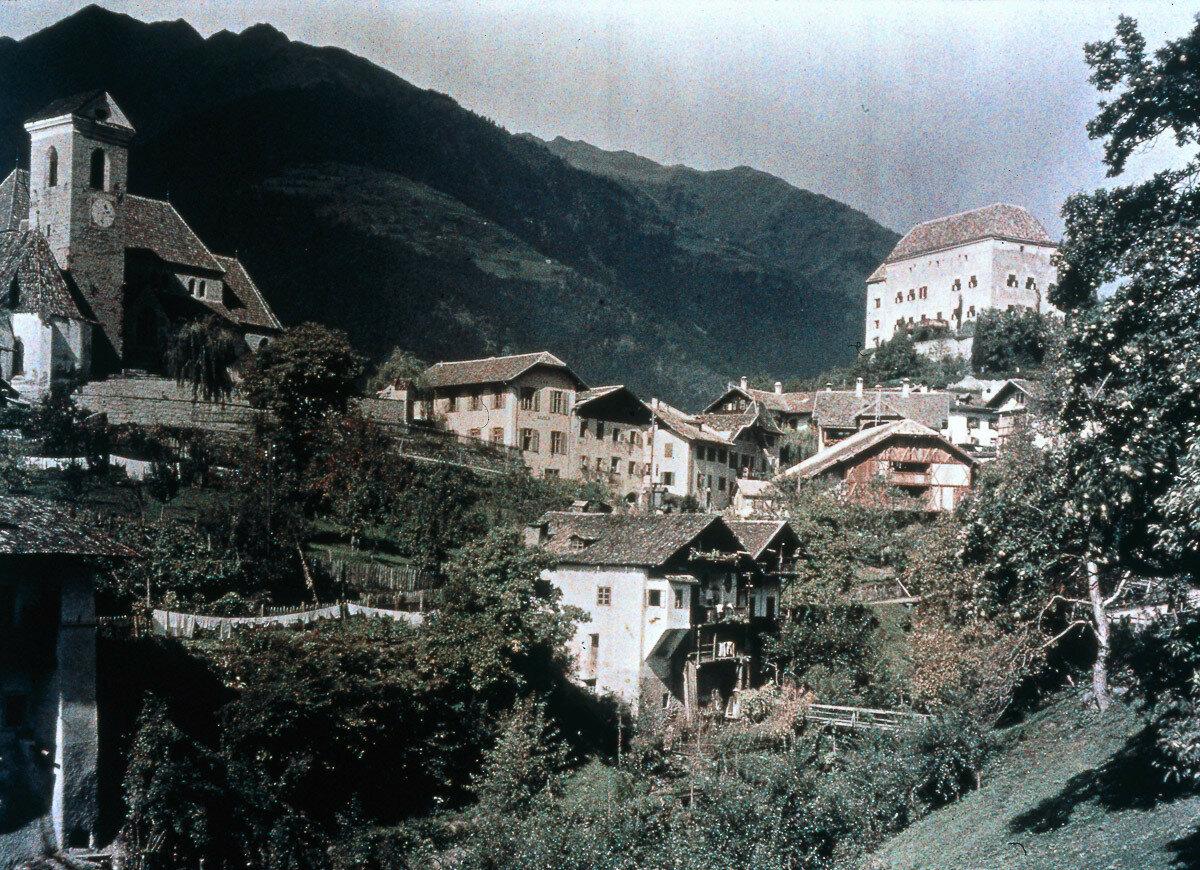 1930. Перевал Силви, Италия
