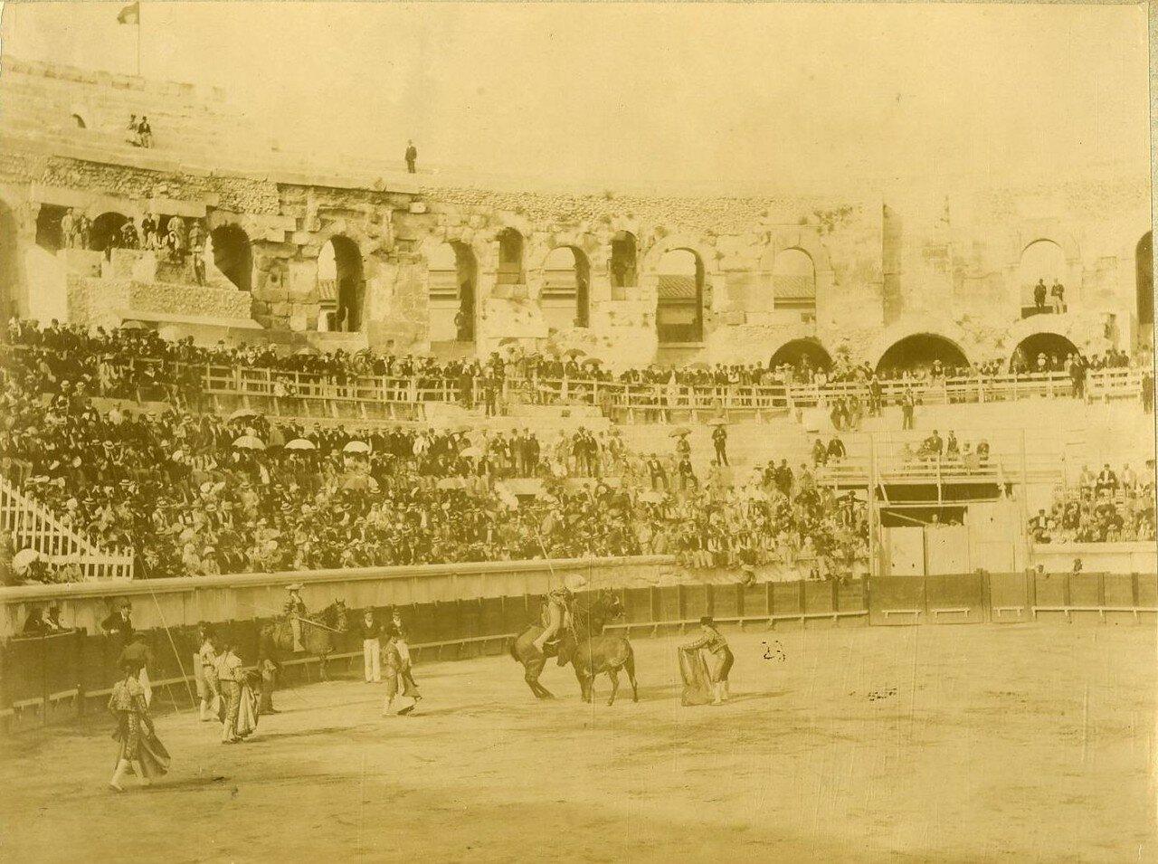 Арена. Коррида. 1870-е