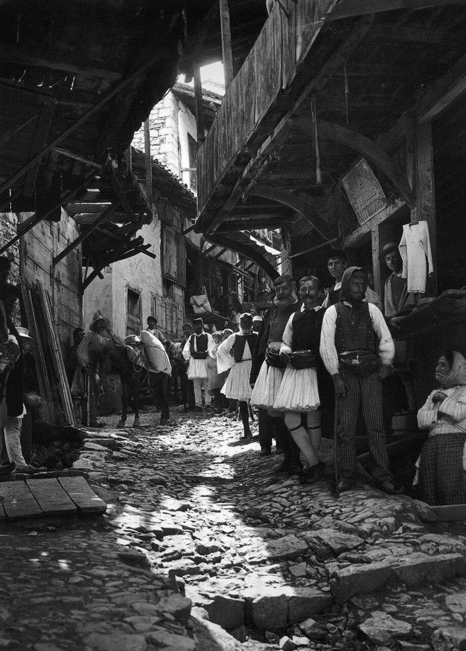1903. Андрицена. Рынок